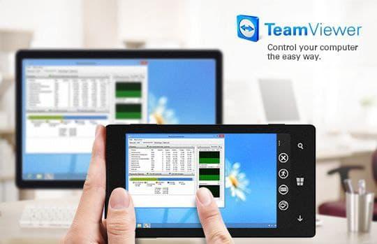включаем демонстрацию экрана на TeamViewer