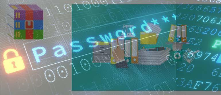 Как установить пароль на архив в WinRar и 7-Zip