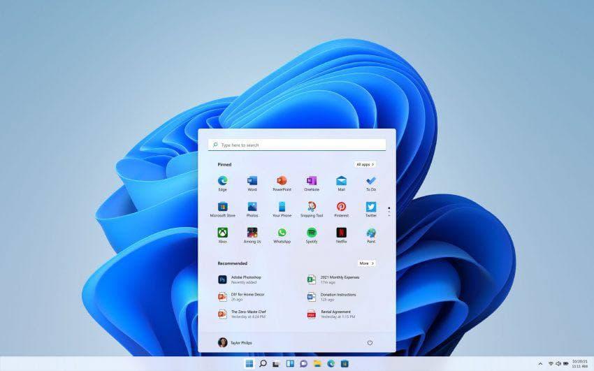 новая ОС Windows 11 станет более производительной