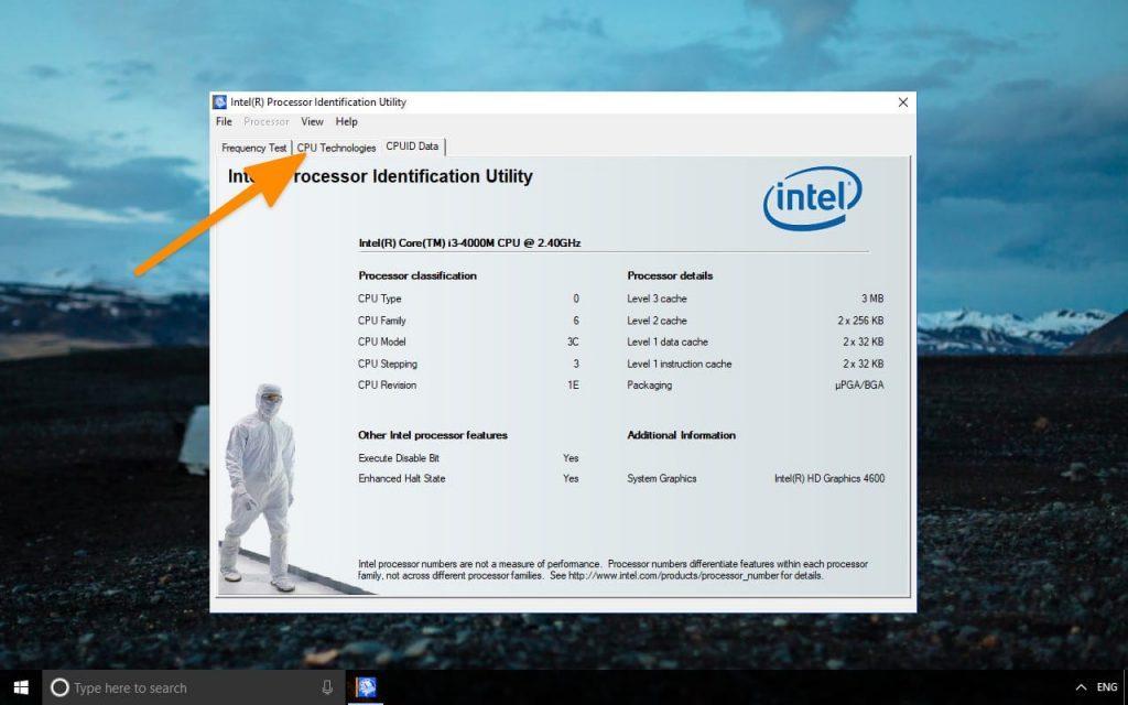 ищем пункт Intel(R) Virtualization Technology