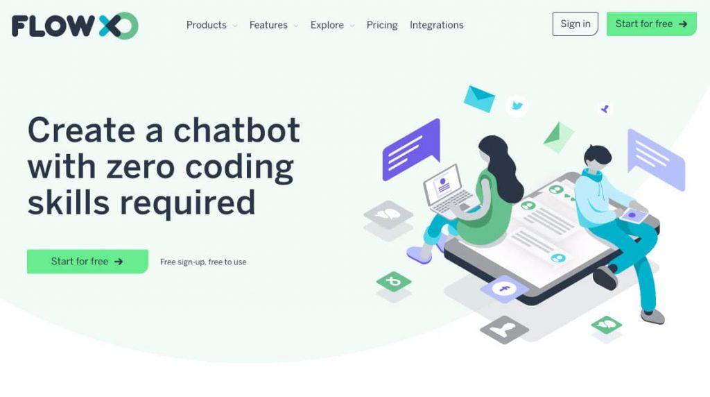 FlowXO как создать бота в телеграм