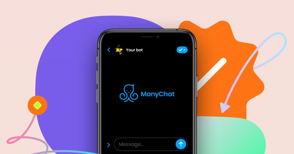 создаем боты в телеграме в программе ManyChat.