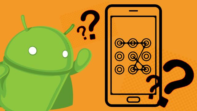 Как сбросить забытый графический пароль на Android