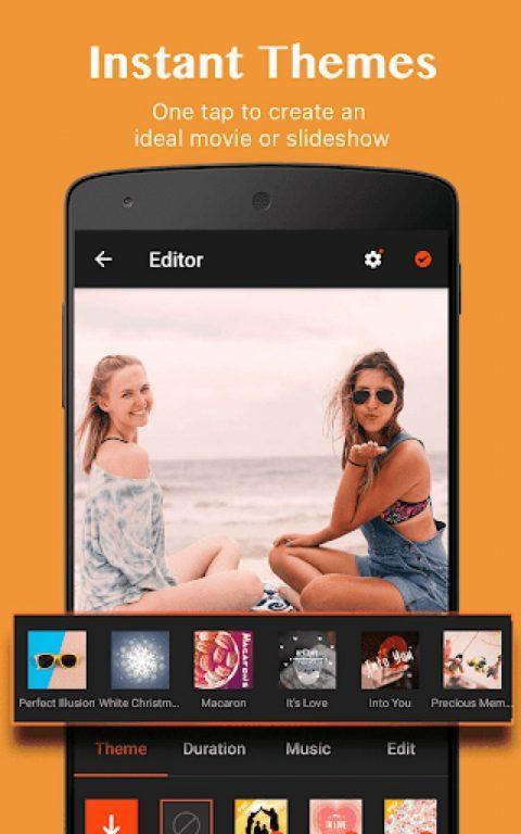 VideoShow редактор для видео на андроид платформе