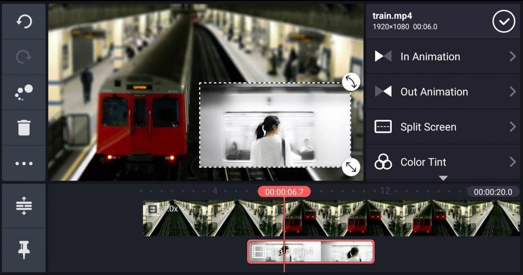 простой видео редактор для android KineMaster