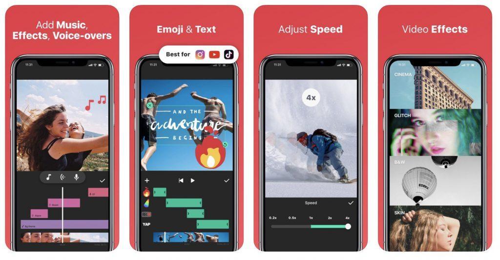 inShot программа для работы с видео на андроид