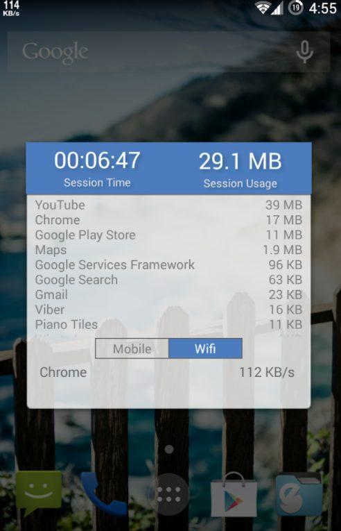 Internet Speed Meter для смартфона